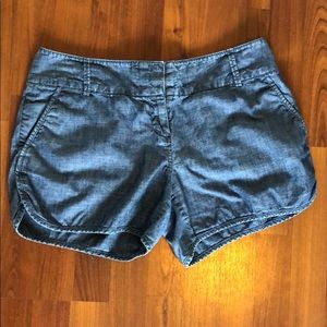 The Limited Chambray Shorts